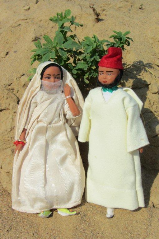 Куклы в Костюмах Народов Мира №13 - Марокко