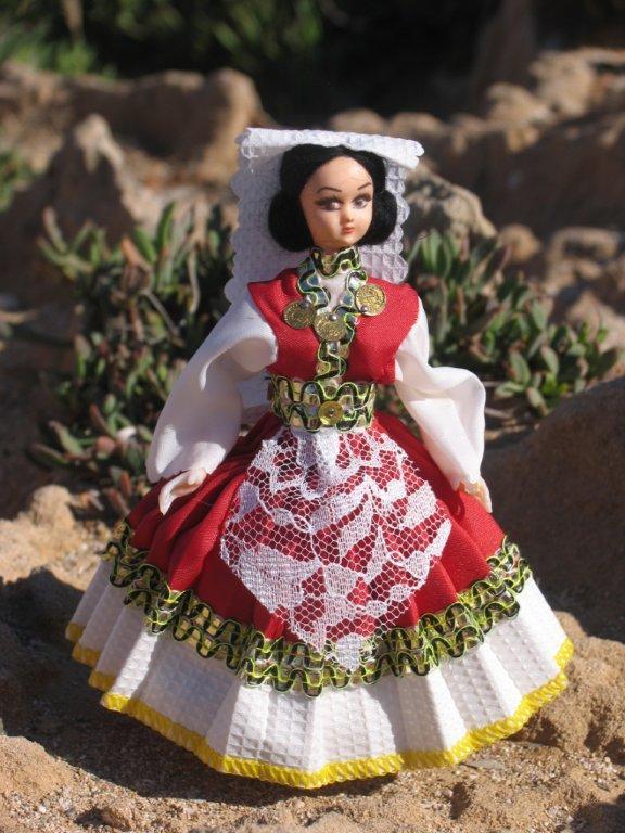 Кукла в национальном костюме