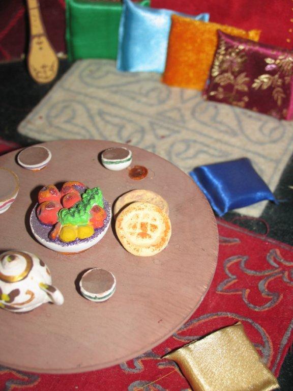 Казахские поделки из фетра