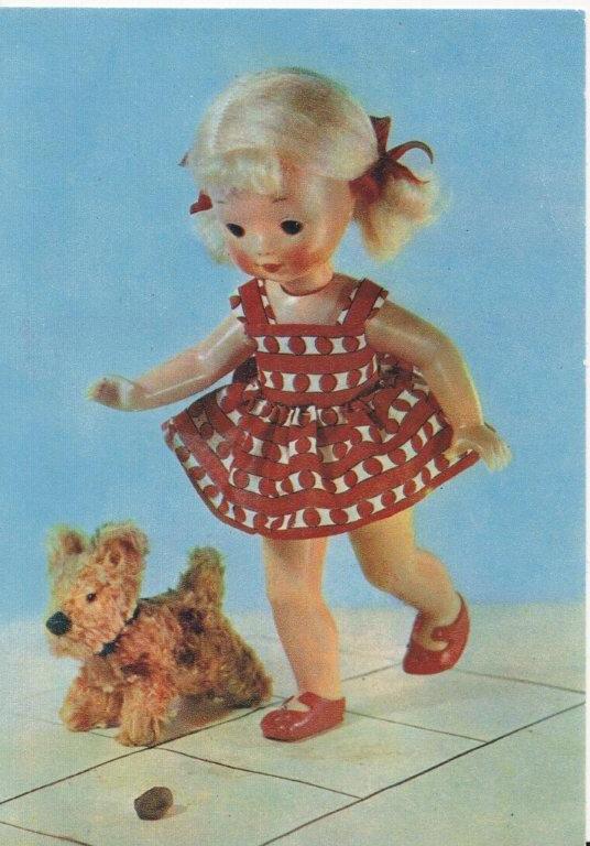 советские картинки с куклами время она, кстати