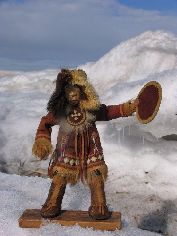 Своими руками костюм-шаман 69