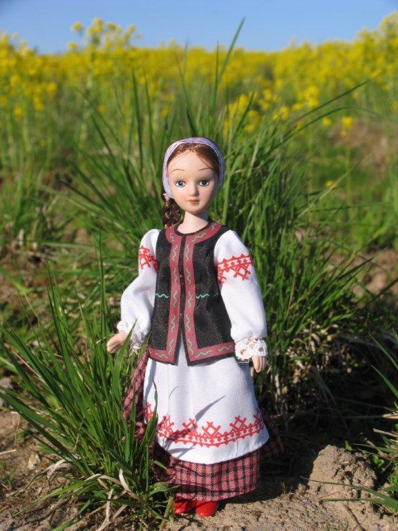 Белорусский костюм для девочки своими руками 24