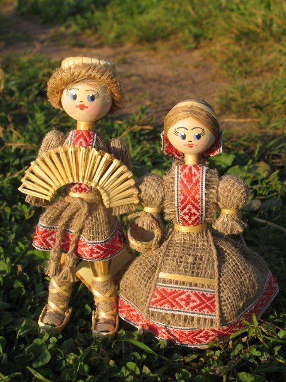Куклы из соломы своими руками