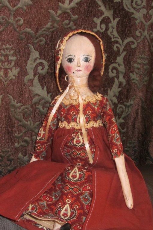 Кукла под старину своими руками
